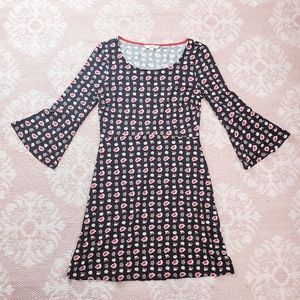 ⚘Boden Floral Polish Style Bell Sleeve Dress